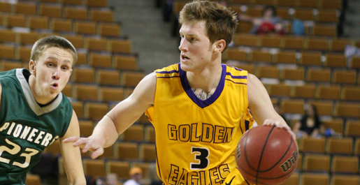 Newton, McMorrow lead Golden Eagles over Crowley's Ridge