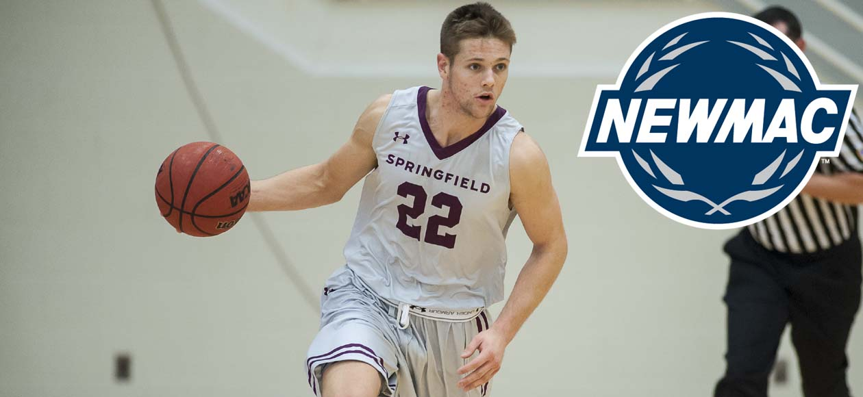 Ross Collects Third NEWMAC Men's Basketball Weekly Honor Of The Season