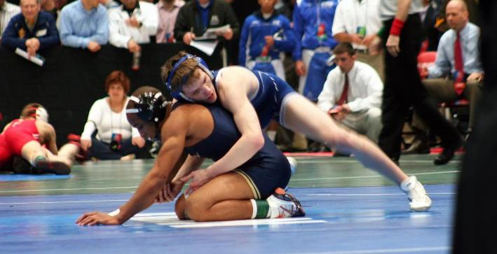 Wrestling stumbles during session one of NCAA Championship
