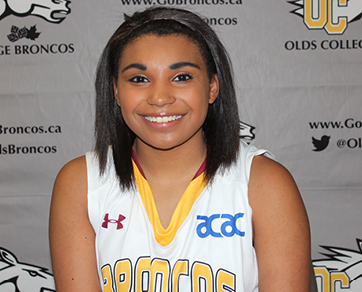 Brianna Scott, Olds College, Women's Basketball