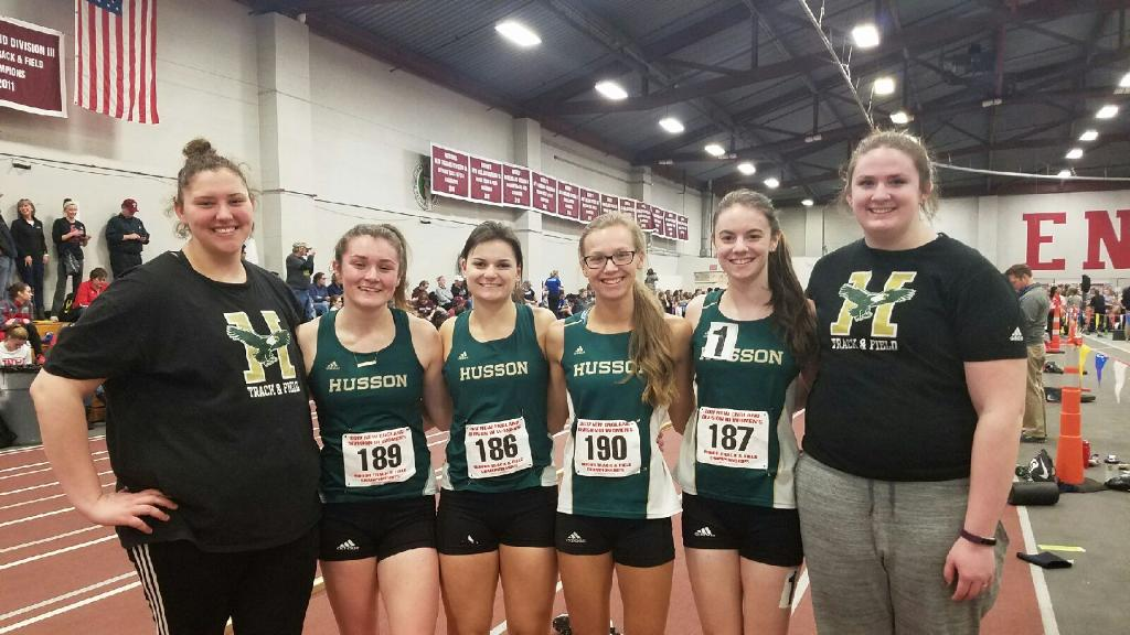 Women's Indoor Track & Field Competes Against the Best at the DIII New England Championships