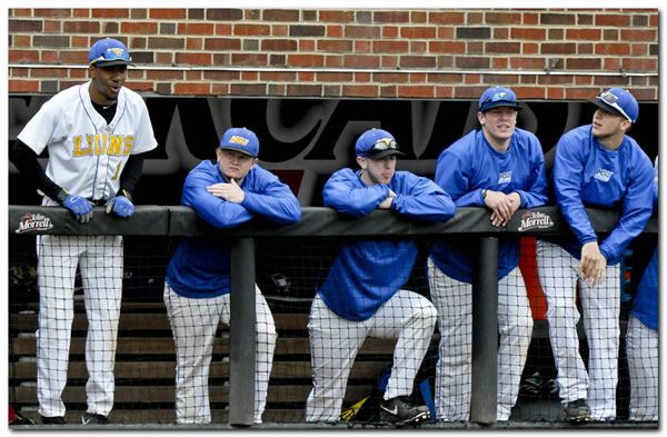 Lions' baseball team upended by Earlham College, 14-8