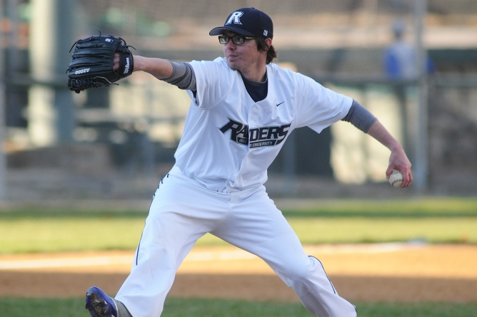 Chotkowski pitches Raiders to 7-3 win over New England College