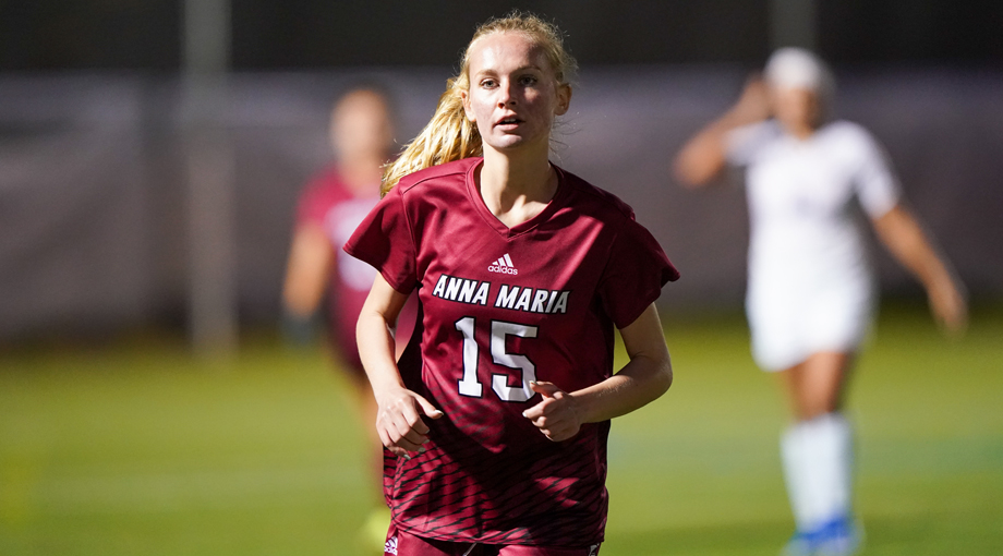 Eskildsen Scores Again as Mass Maritime Squeezes Past Women's Soccer