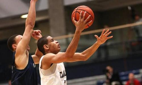 Farinet's Double-Double Leads #15 UMW Men Past York, 63-57