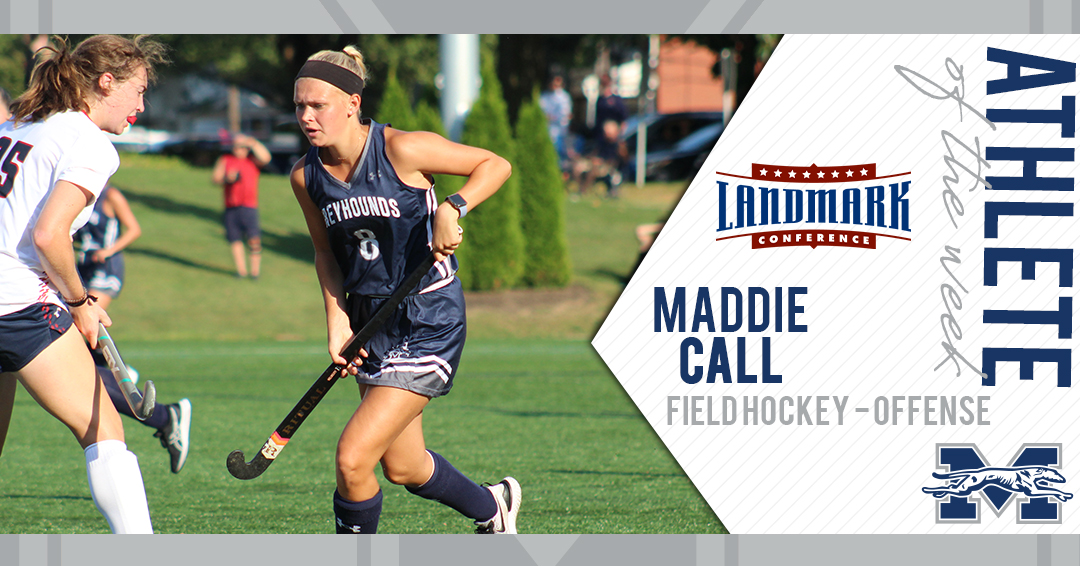 Maddie Call selected as Landmark Conference Field Hockey Offensive Athlete of the Week