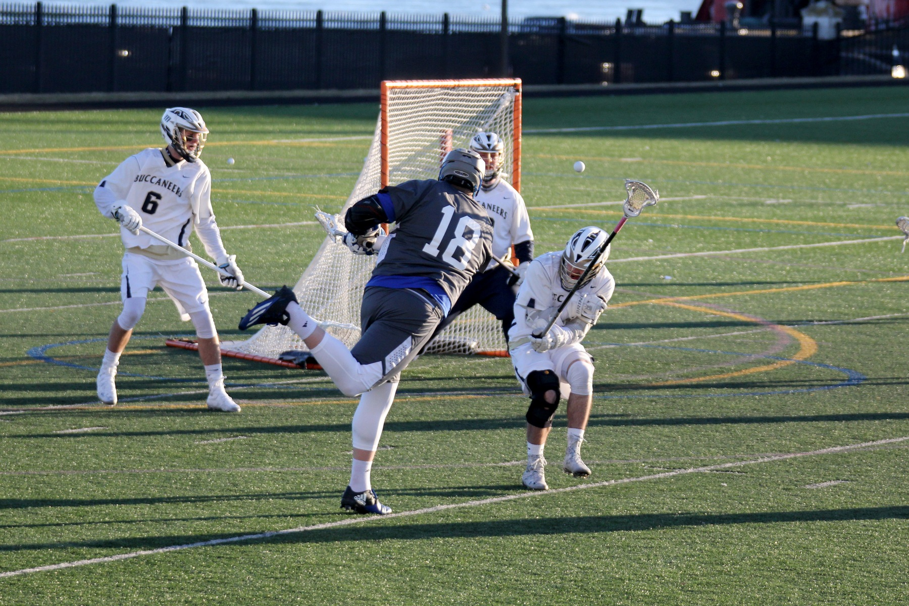 Men's Lacrosse Falls to Rivier in Season Finale