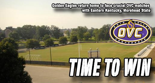 Golden Eagles return home for important weekend of conference play
