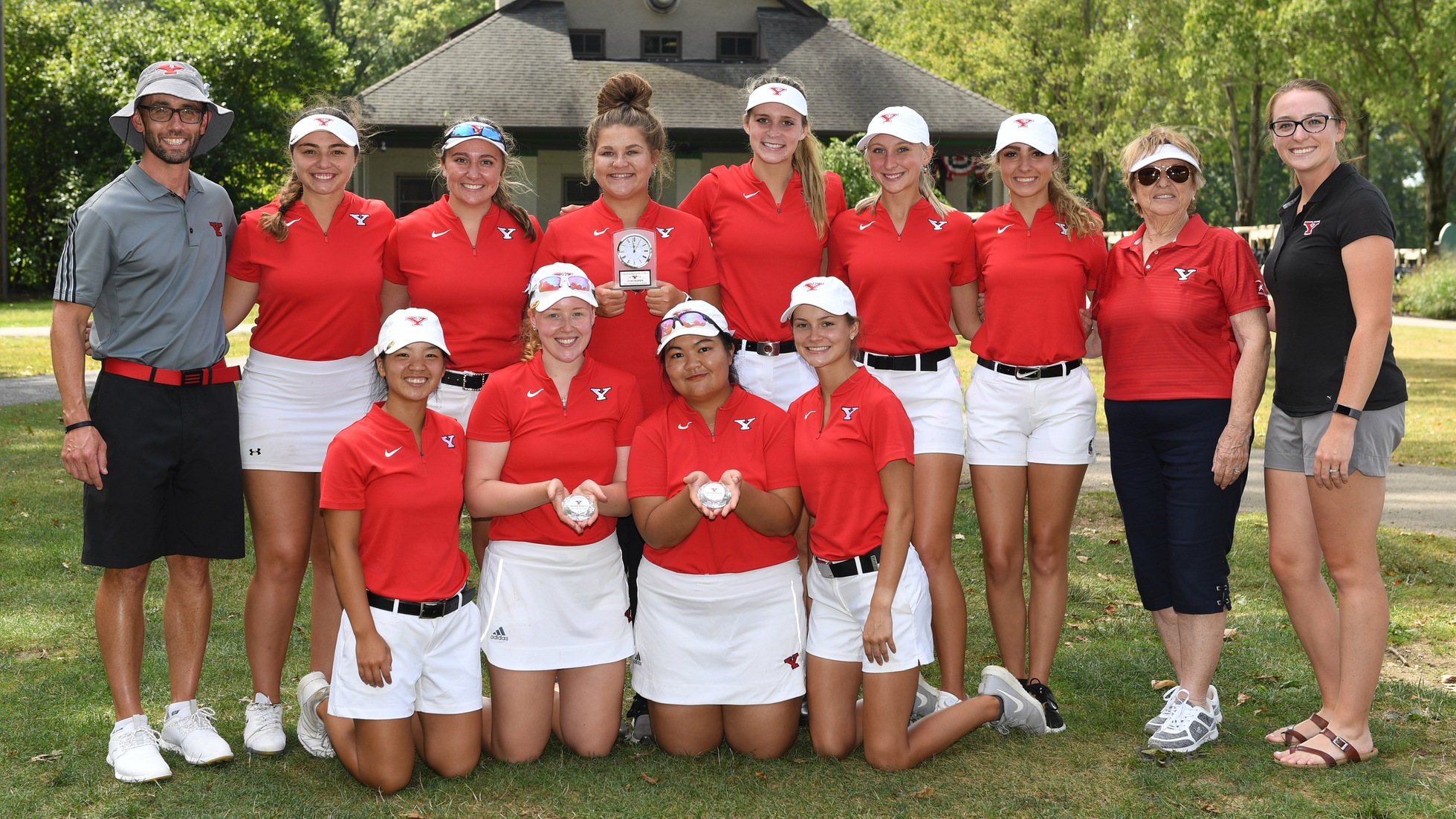 YSU Women's Golf wins Roseann Schwartz Invitational (Photo by Rob Hayes)