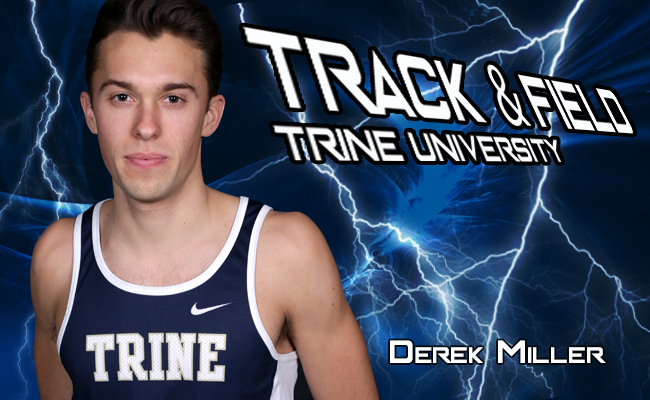 Members of Men's Track Compete at Dr. Keeler Invitational