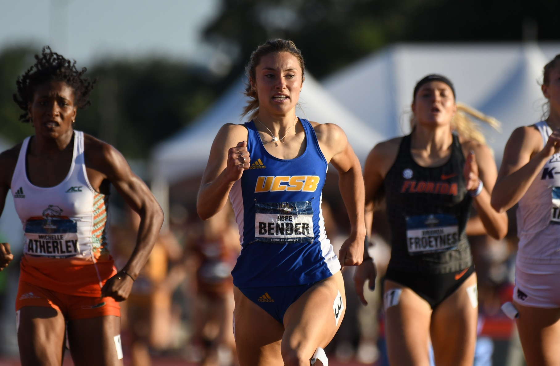 Hope Bender Fourth in Women's Heptathlon at NCAA Championships