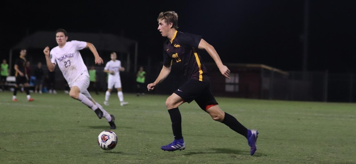 Ben Pelz helped CMS stay undefeated in SCIAC play with a key goal against Redlands