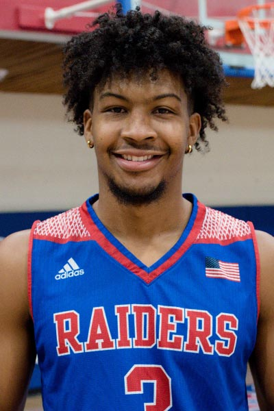 Kavan Hill, Sophomore Guard, Roane State, TCCAA Men's Basketball Player of the Week 2/3