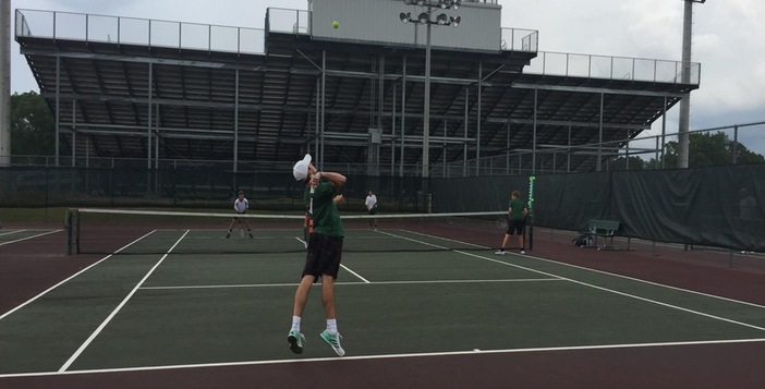 Gator Tennis Team Rallies but Fall Short in State Competition