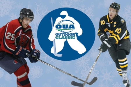 OUA and Hamilton Bulldogs partner for OUA men's and women's hockey Outdoor Classic