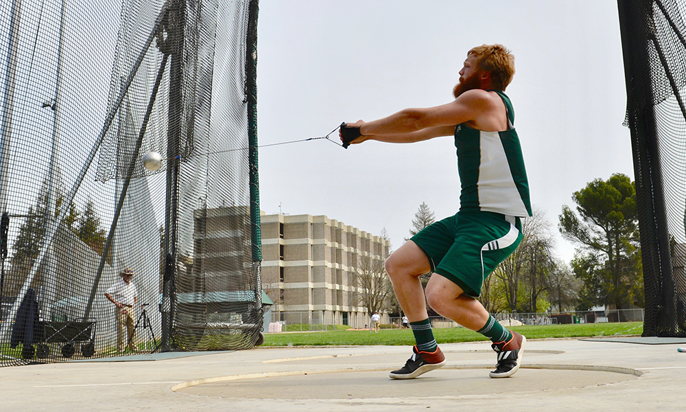 TRACK & FIELD HOSTS UC DAVIS FOR CAUSEWAY DUAL ON FRIDAY NIGHT