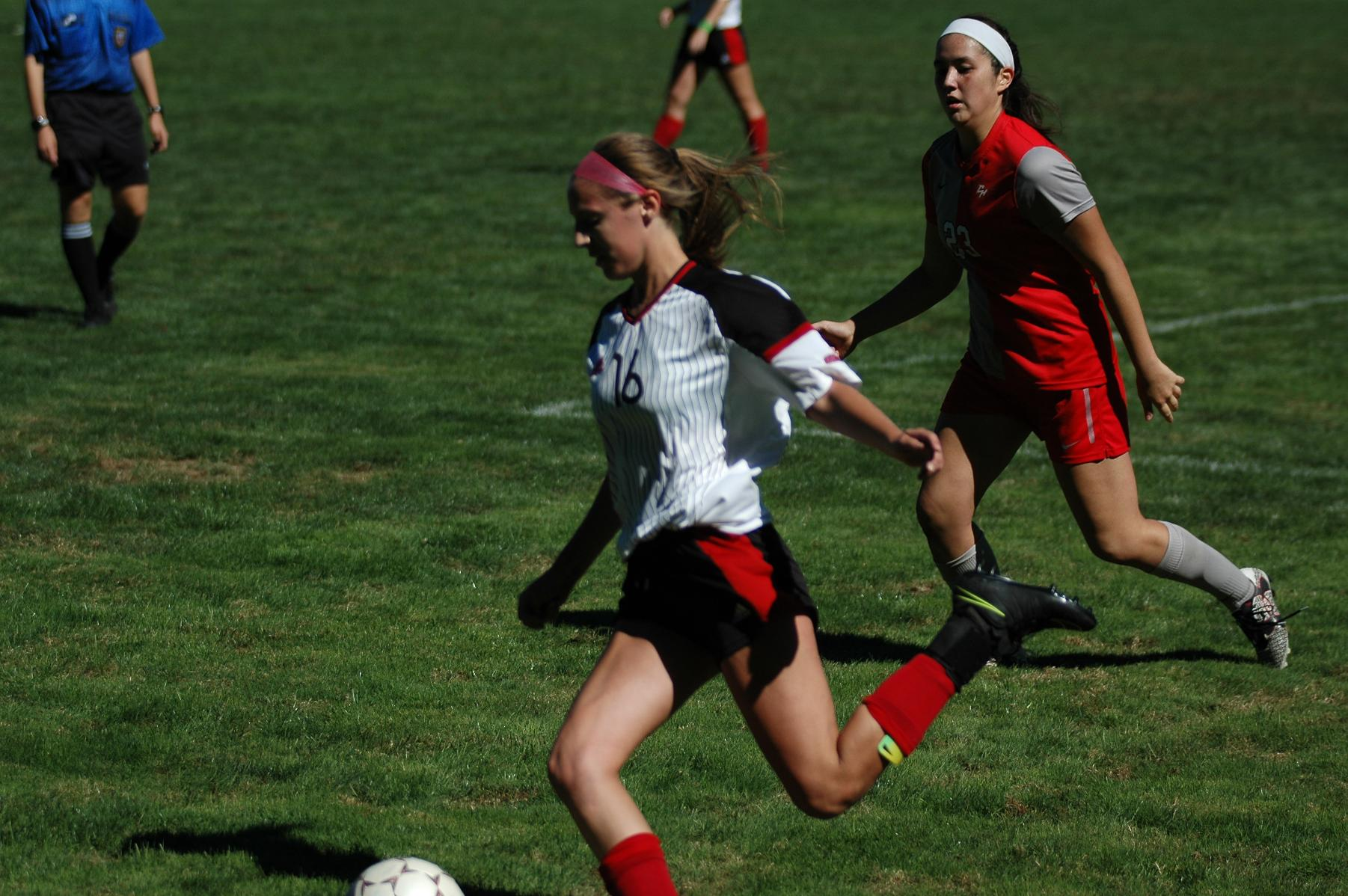PENALTY KICK GOAL LIFTS LADY CHARGERS OVER EAGLES