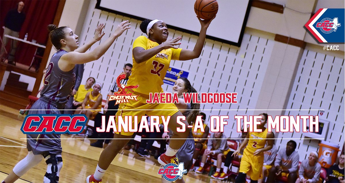 Chestnut Hill's Jaeda Wildgoose Named CACC Student-Athlete of the Month for January 2018