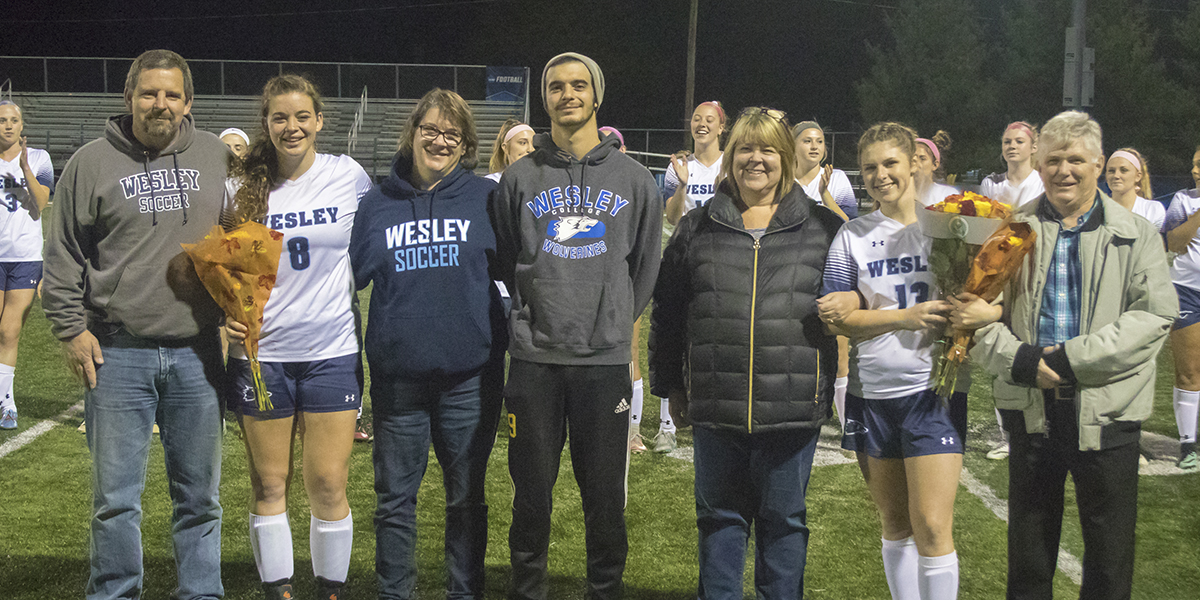 Women's Soccer draws even with Immaculata on Senior Night