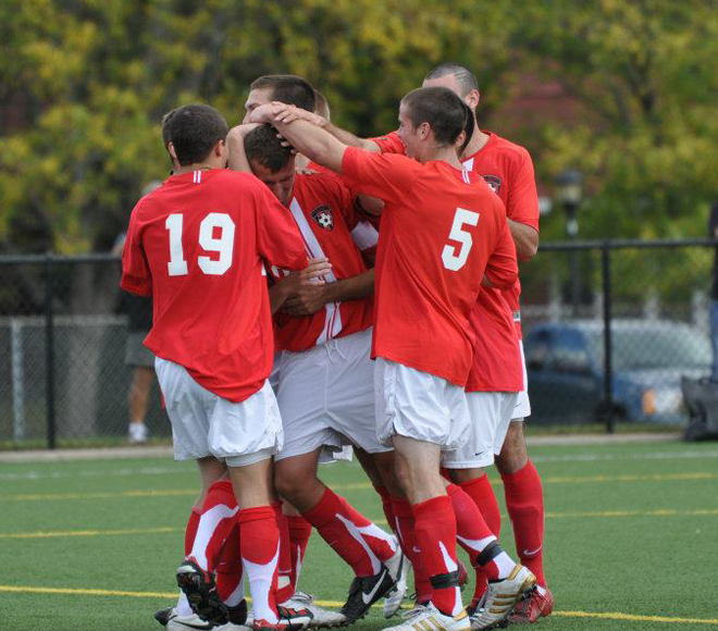 Throwback Thursday: 2005 Plattsburgh Men's Soccer Team