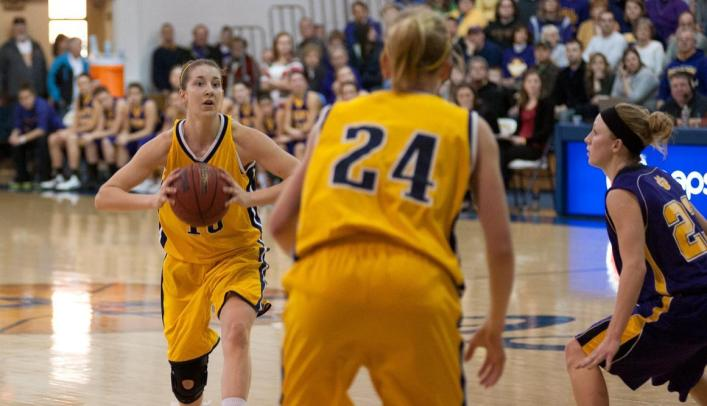 Women's Basketball Comes up Short at Nationally-Ranked UW-Stevens Point