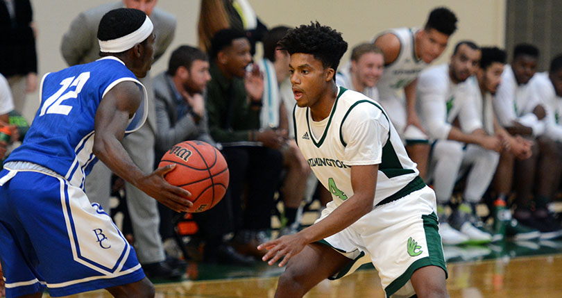'Team effort' guides @DubC_MensHoops to win