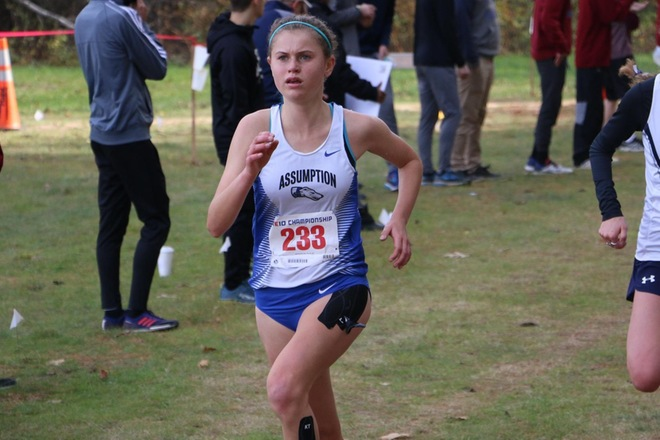 Women's Cross Country Takes Ninth Place at Nassaney Invitational
