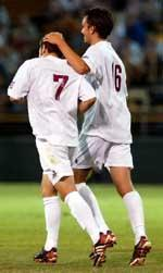 Irvine Named to College Soccer News Team of the Week