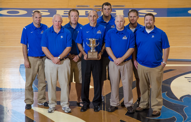 St. Joe's Claims 2012 GNAC Men's Commissioner's Cup