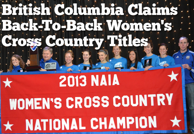 British Columbia Claims Back-to-Back Women's Cross Country Titles