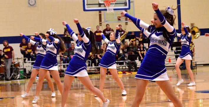 Cheerleading elevated from spirit squad status to Competitive Cheer