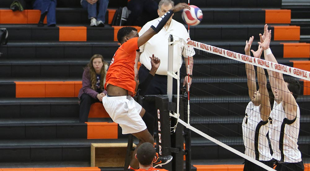 Men's volleyball perfect on opening day of NCCAA national invitational