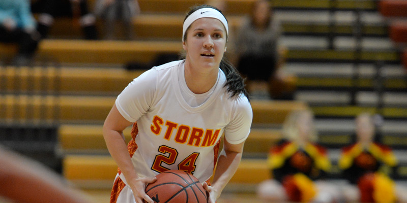 Storm women tripped up by Wartburg, Sommer