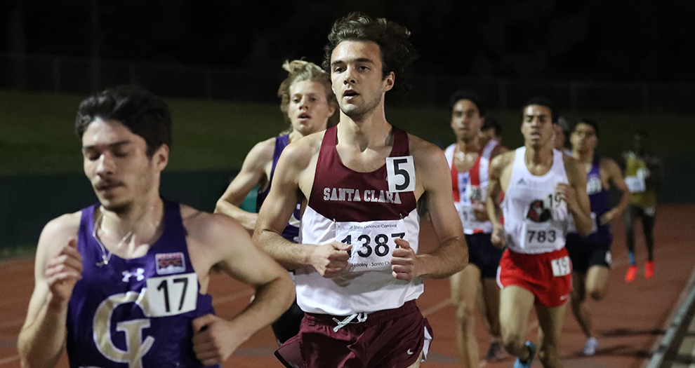 Jean-Baptiste Tooley is one of three Broncos (Ross Corey, Brennan Lagerstrom) set to compete at both 800 and 1,500 meters during the Mt. SAC Relays on Friday.