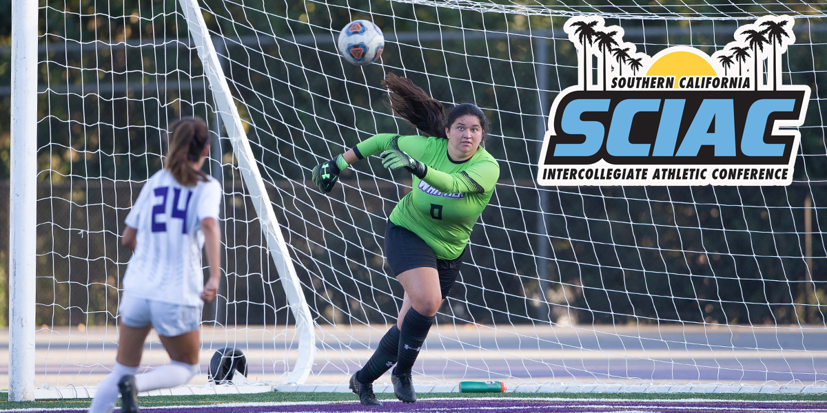 Vanessa Martinez named SCIAC Defensive Athlete of the Week
