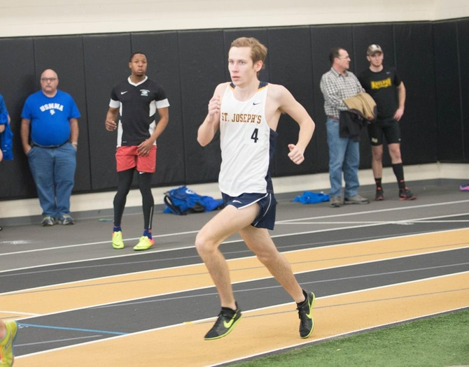 Indoor Track and Field Hosts St. Joseph's College Invitational