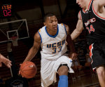 Johnson's 3-Pointer Saves the Day, Leads Gauchos to 85-80 OT Win over Cal State Fullerton