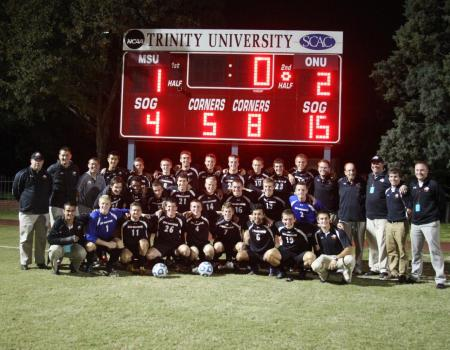 Johnson's late goal sends No. 5 Men's Soccer to NCAA III Tournament Semifinals