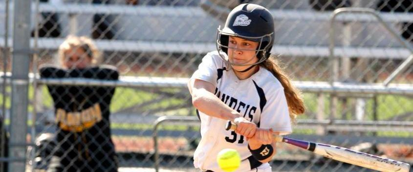 Softball splits with Clark to reach 20-win plateau
