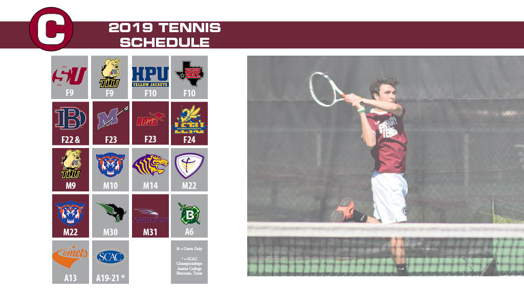 Ladies and Gents Tennis Releases the 2019 Schedule