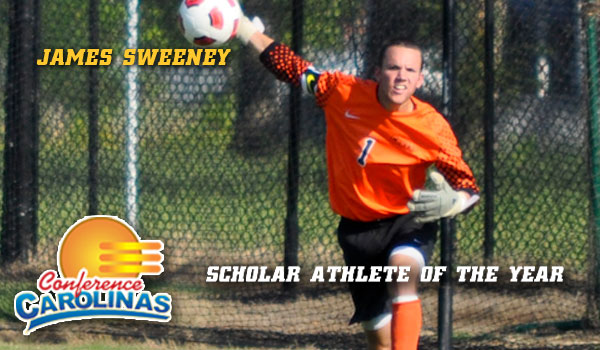 Sweeney Named Conference Carolinas Scholar Athlete of the Year
