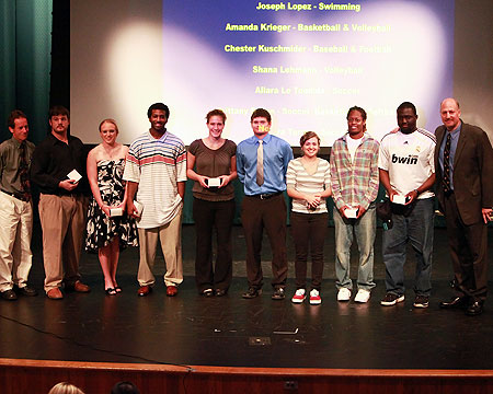 GU Student-Athletes recognized at annual Awards Ceremony