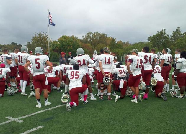 Shenandoah Stops Guilford, 47-31, in ODAC Football