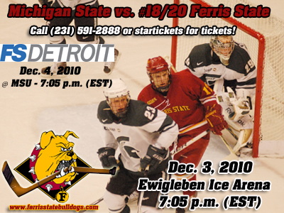#20th Ranked Ferris State and Michigan State Renew Acquaintances This Weekend