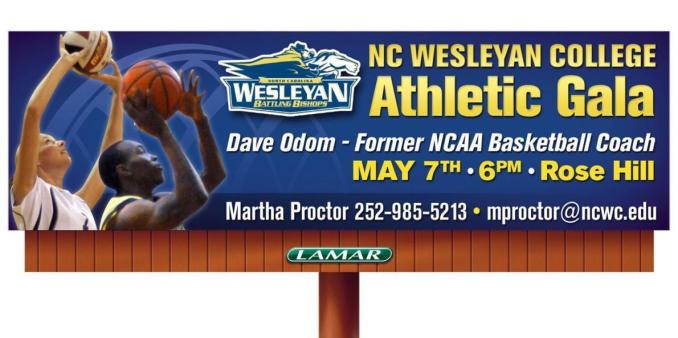 N.C. Wesleyan Hosts 2012 Athletics Gala