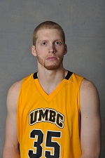 Brett Roseboro had 8 points and a career-best 8 rebounds in his UMBC debut at Penn.