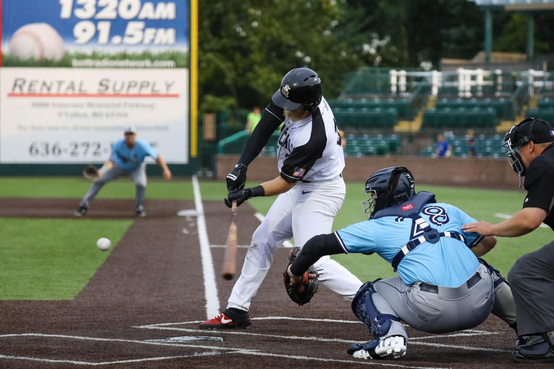 Rascals Blanked By Grizzlies