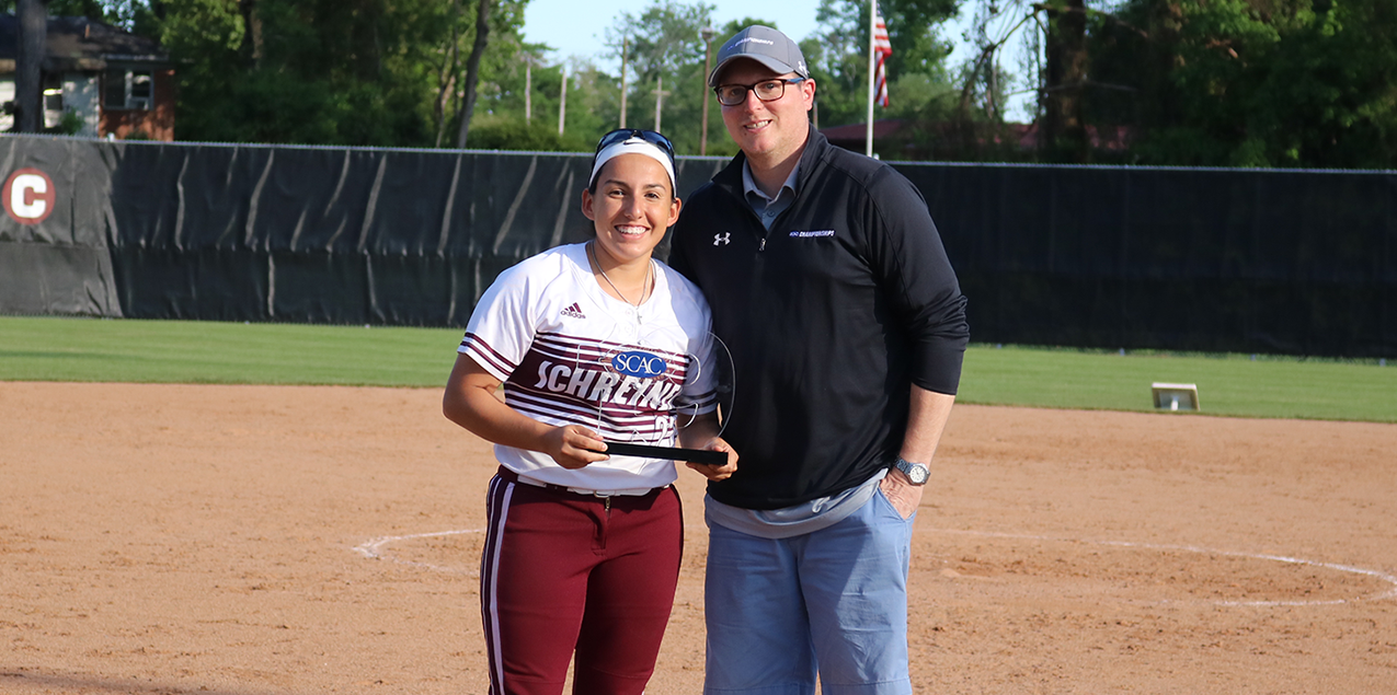 Schreiner's Ortiz Earns SCAC Softball Elite 19 Award