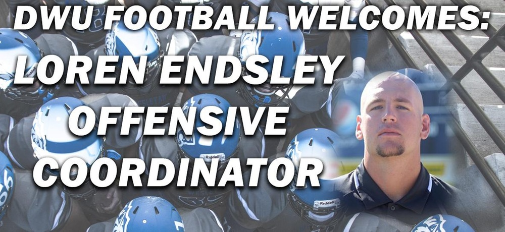Endsley tabbed as next offensive coordinator for DWU football
