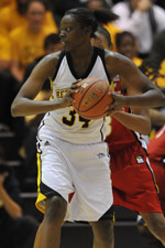 Topé Obajolu is the UMBC career blocks leader with 133 blocks